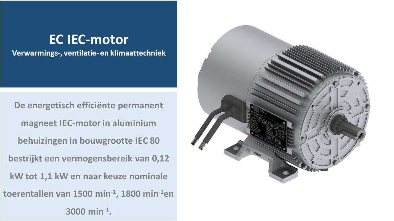 EC IEC-motor, ventilator motor