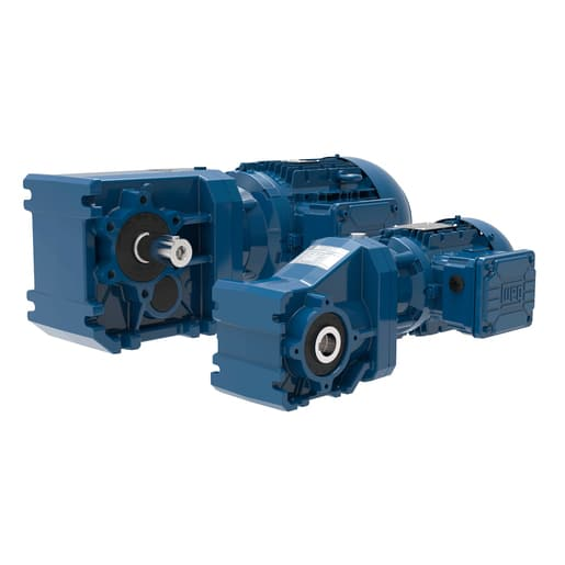 B&P Elektromotoren Wattdrive WG20 HELICAL BEVEL